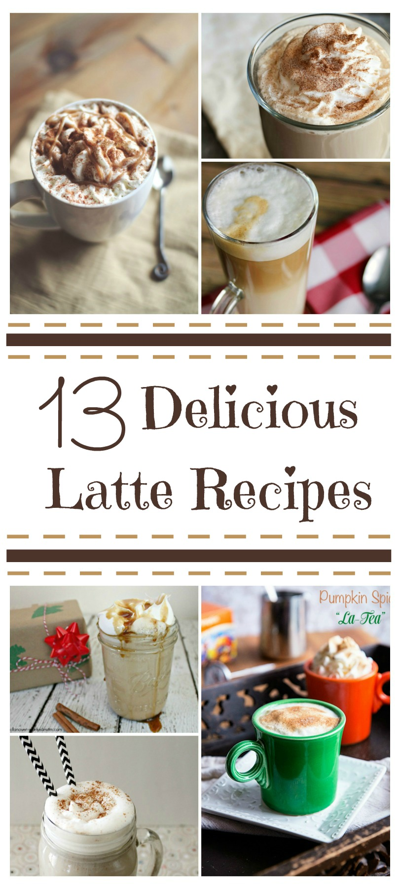 Looking for some awesome latte & Starbucks copycat recipes? Check out these 13 delicious & budget friendly latte recipes here!