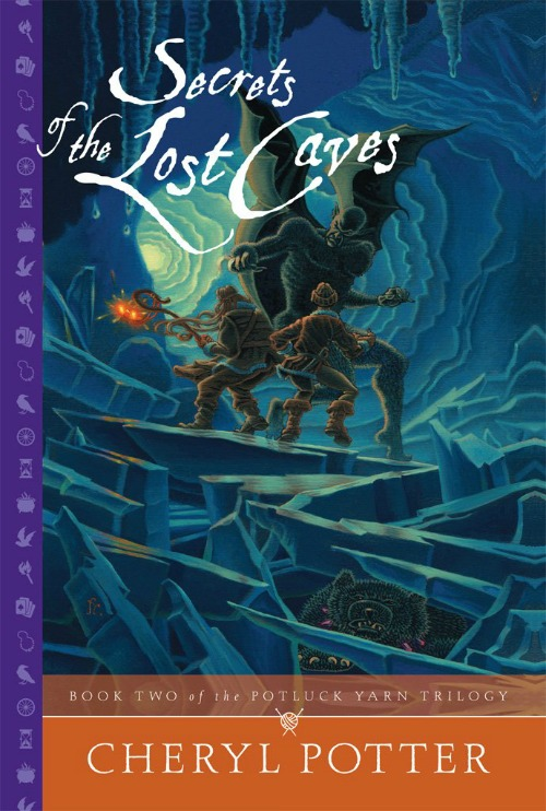 Secrets of the Lost Caves (Potluck Yarn Trilogy 2) Book Review