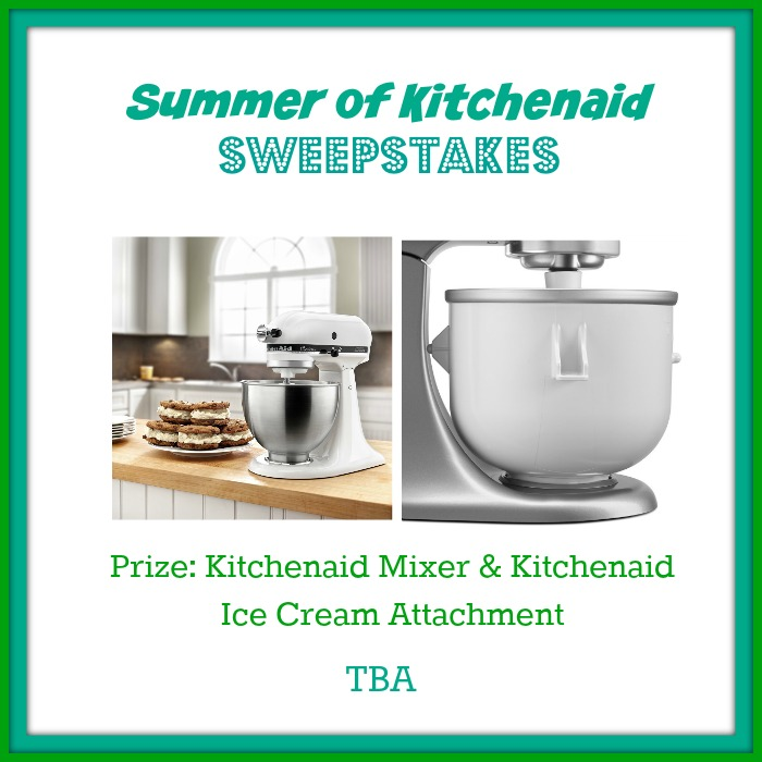 New Blogger Opp: Summer of Kitchenaid Sweepstakes