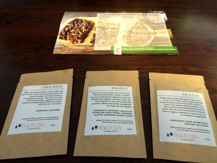 Looking for the perfect gift for someone in your life that loves to cook? See what we think of the RawSpiceBar subscription box here!