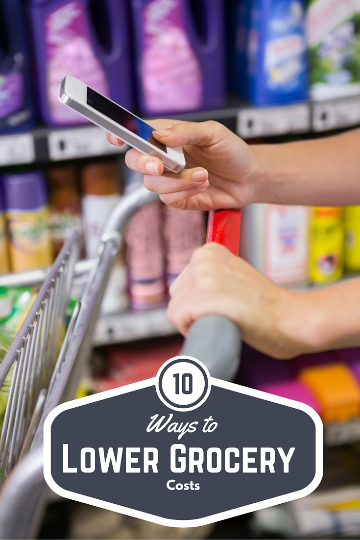 10 Ways to Lower Grocery Costs
