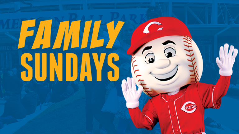 Enjoy Family Sundays with the Cincinnati Reds & Klosterman