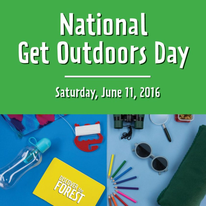 Do you love being outdoors? See why we think you & your family should be enjoying the outdoors this weekend for National Get Outdoors Day!
