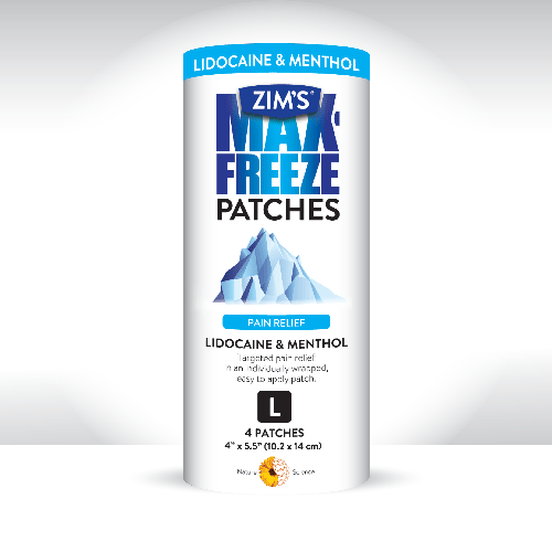 Looking for a way to get rid of annoying aches & pains? Check out some of our favorite products from Zim's Max including their new Zim's Freeze Patches here!