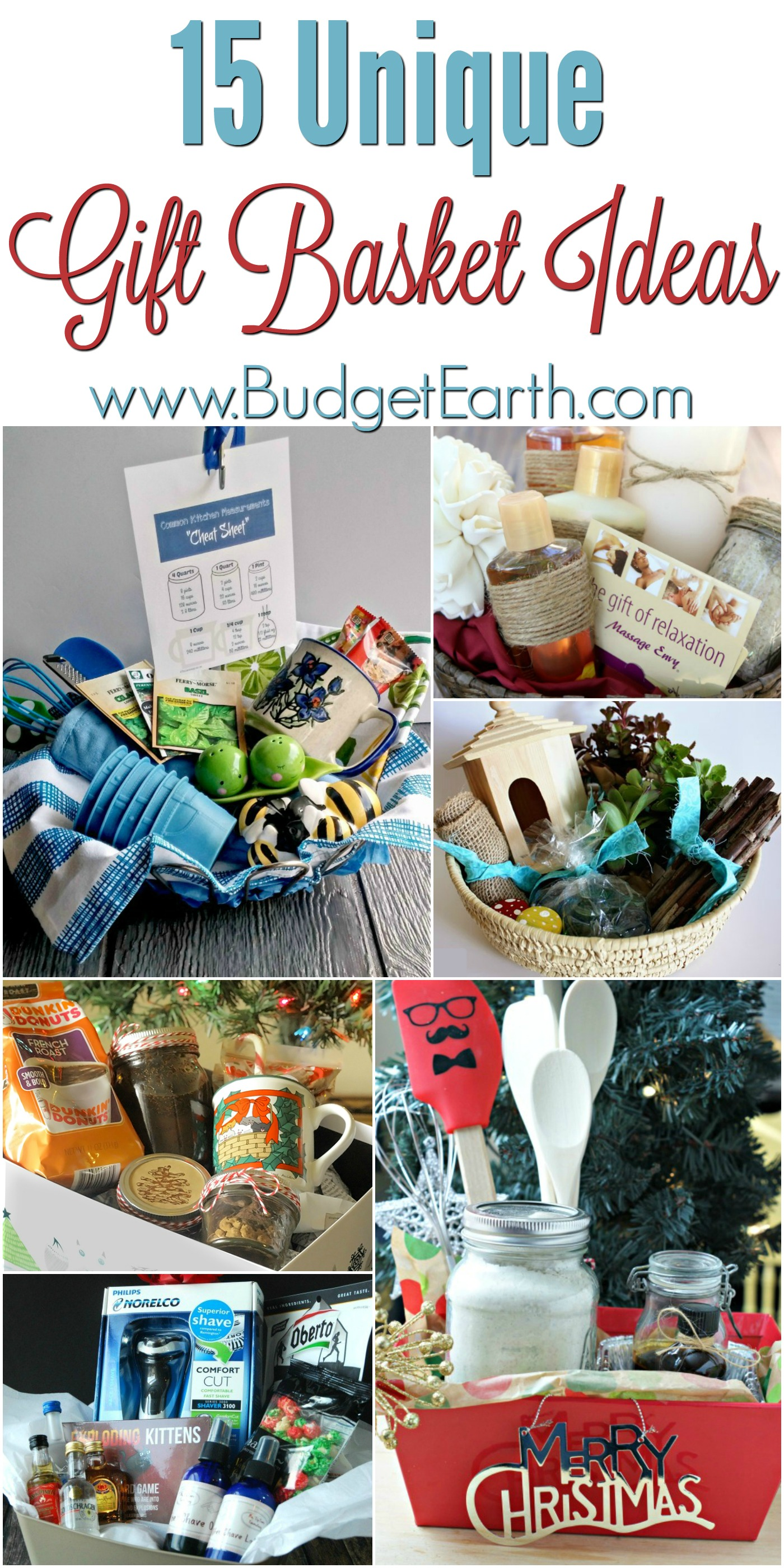 15 Unique Gift Basket Ideas