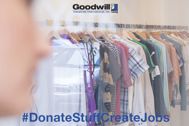 Create Jobs During the Holidays by Donating to Goodwill