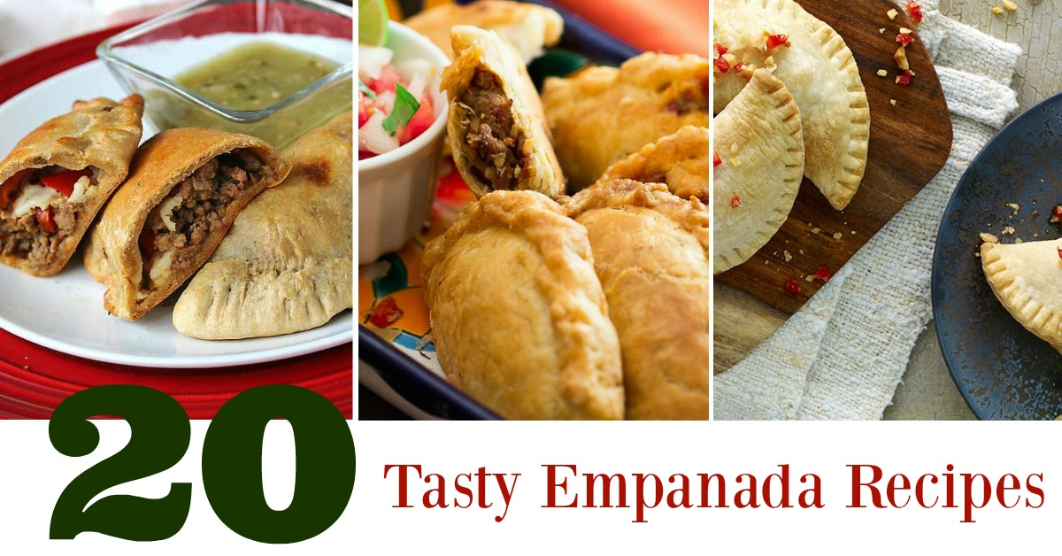 Tasty Empanada Recipes with 3 empanada pictures