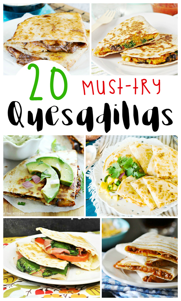 Looking for some delicious recipes? Check out these 20 Tasty quesadillas recipes here!