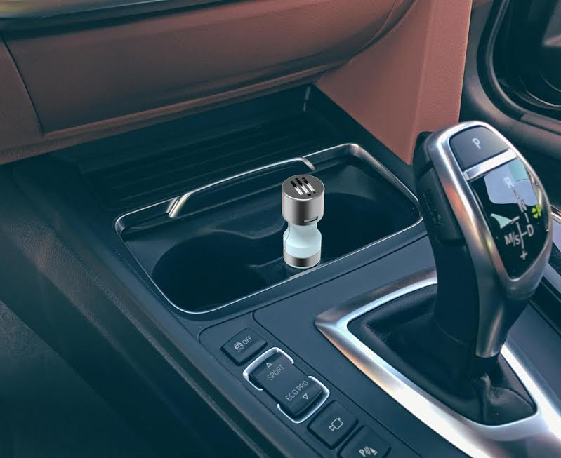 Make Your Car Smell Amazing with the Invigorate Car Essential Oil Diffuser