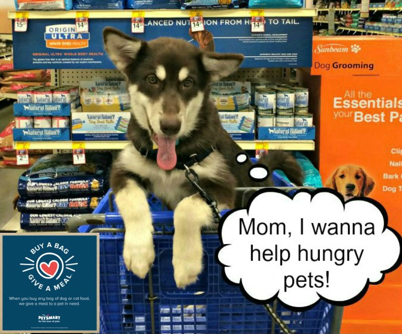 Help Fight Hunger with the Buy a Bag, Give a Meal Program #fortheloveofpets
