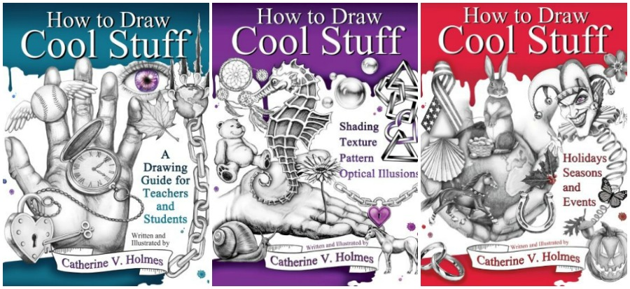 Learn to Draw with the How to Draw Cool Stuff Series