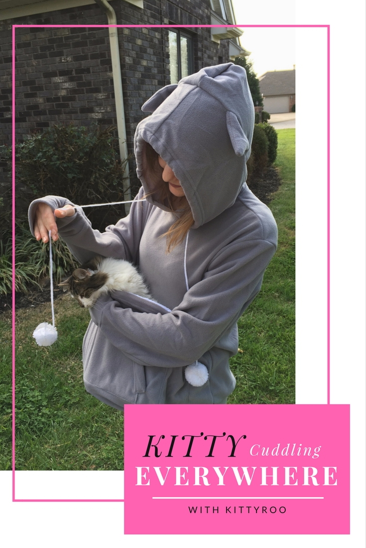Looking for a fun way to cuddle with your cat and keep your hands free? See what we think of the KittyRoo Hooded Sweatshirt here!