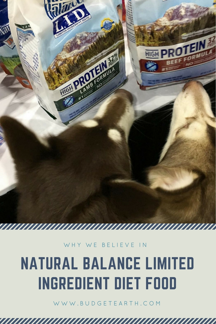 Why We Believe in Natural Balance Limited Ingredient Diet Food #BlogPaws