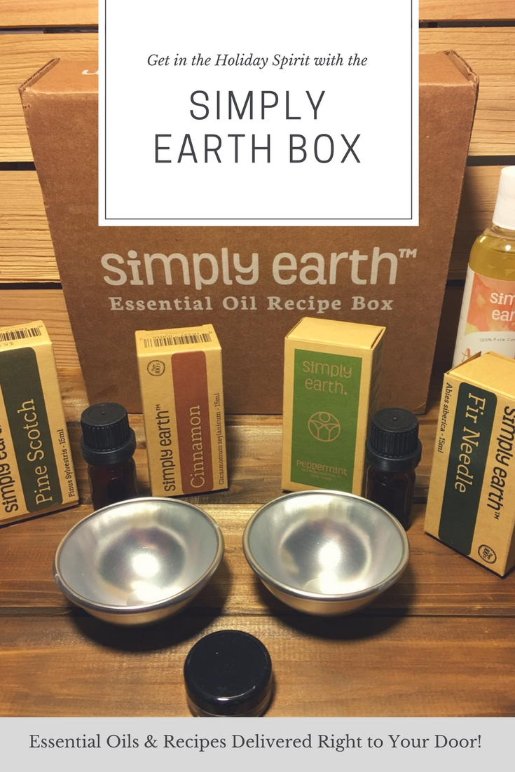 Do you love the thought of having a house that smells like Christmas? See why we love using the Holiday Simply Earth Box in our house here!