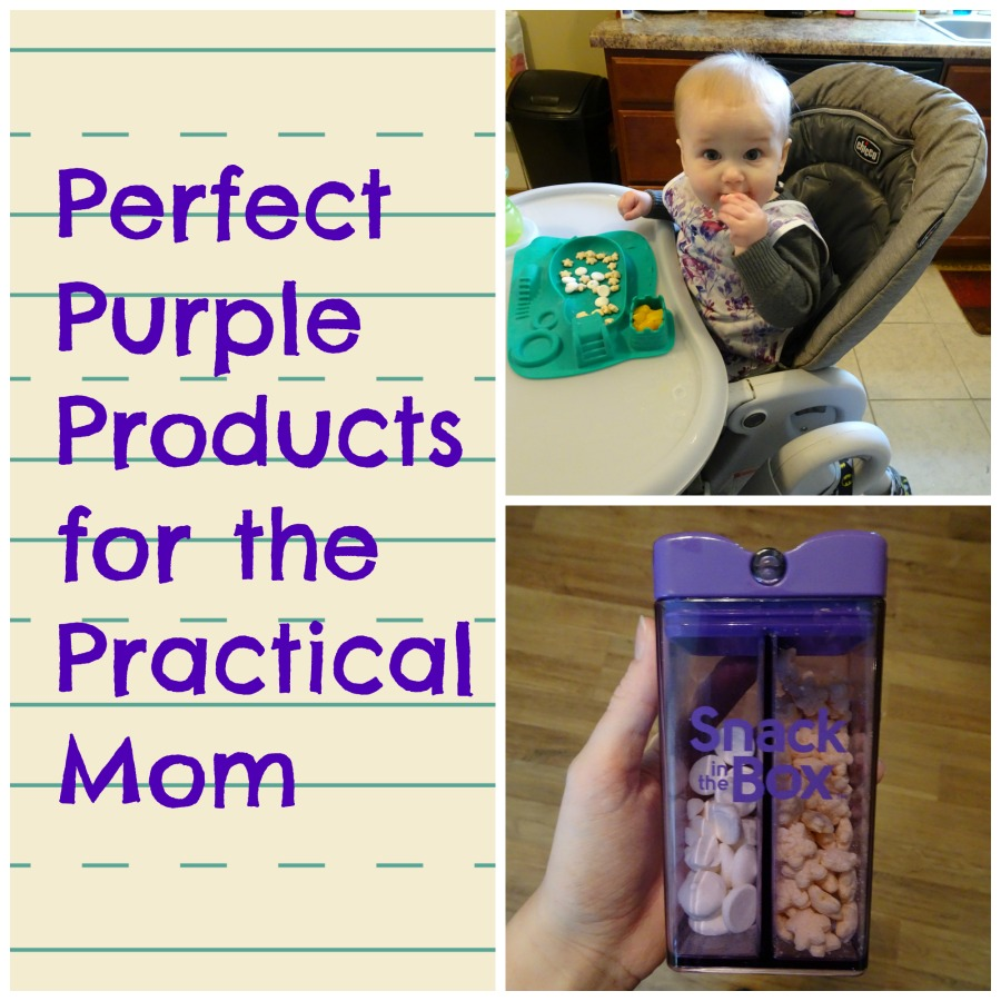 Do you love practical products that make your life easier as a mom? Check out our review of these purple products and see why purple is the color of the year!
