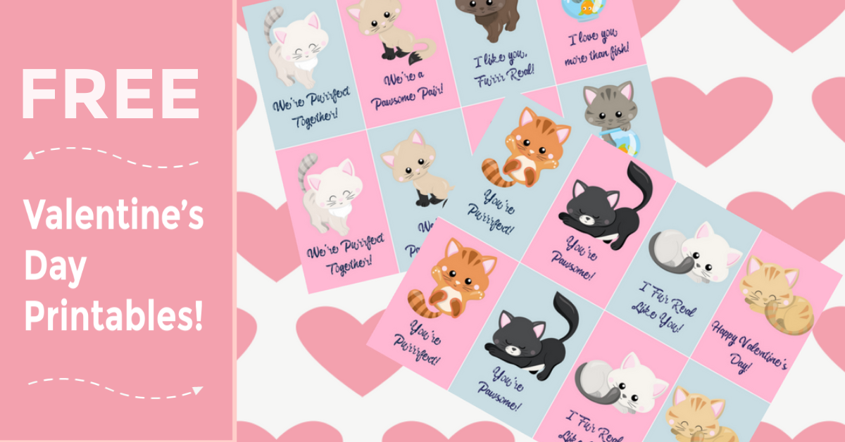 Valentine's Day Printables,
