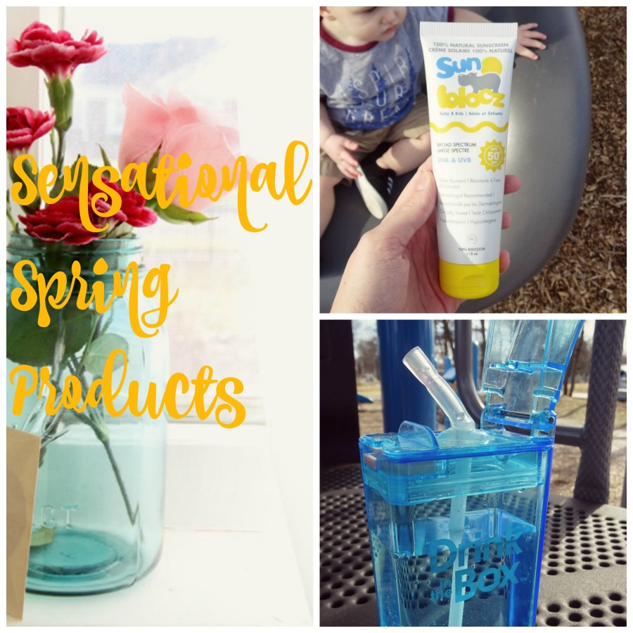 Sensational Spring Products