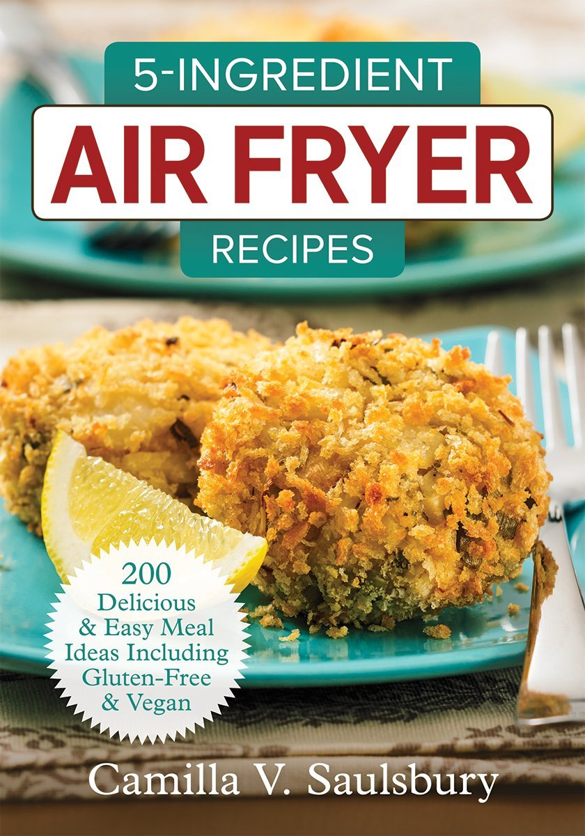 book cover for 5 Ingredient Air Fryer Recipes