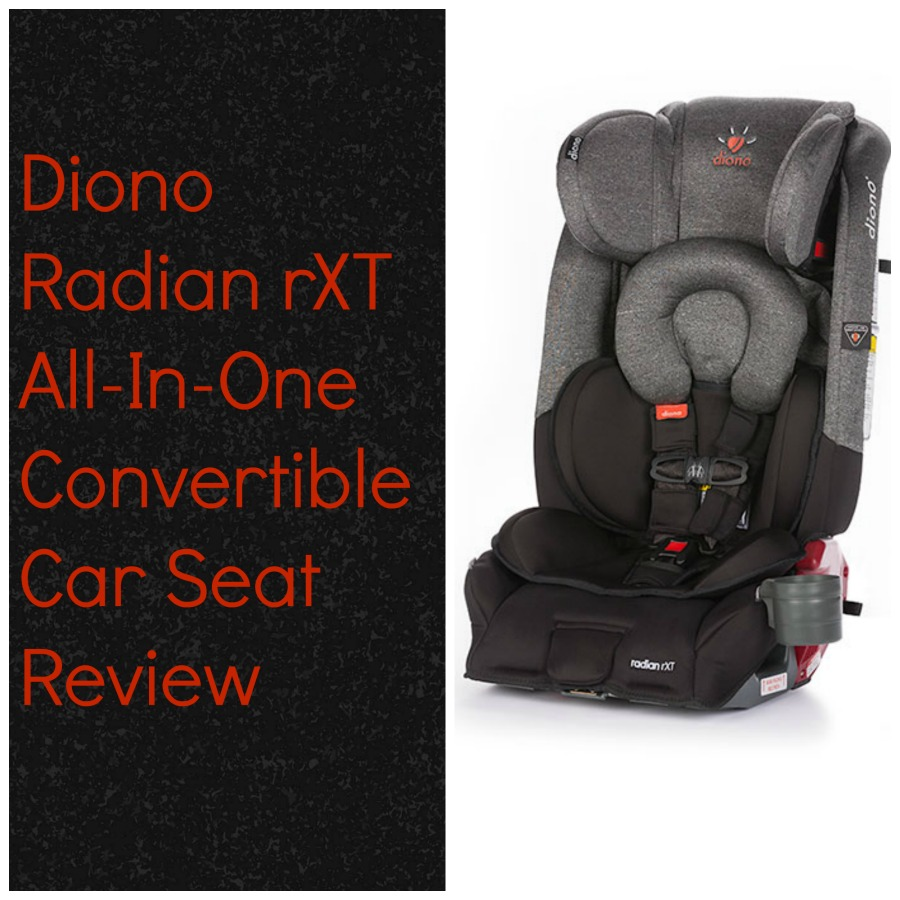 Diono Radian rXT with picture of car seat in gray