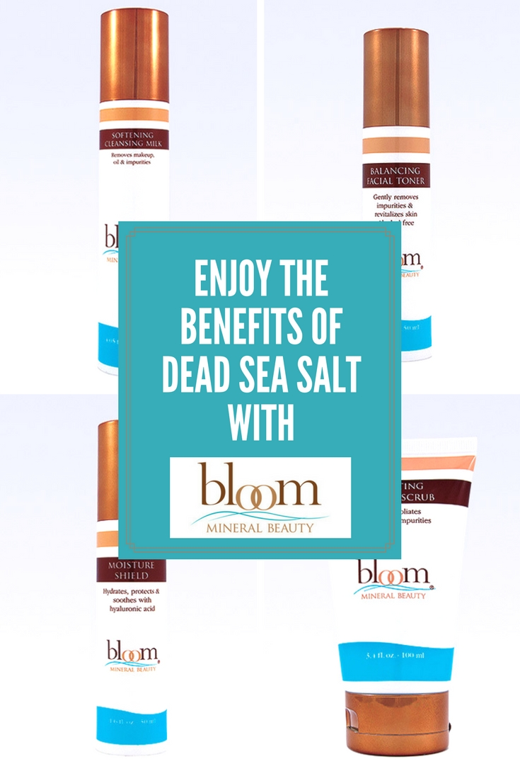 Enjoy the Benefits of Dead Sea Salt with Bloom Mineral Beauty