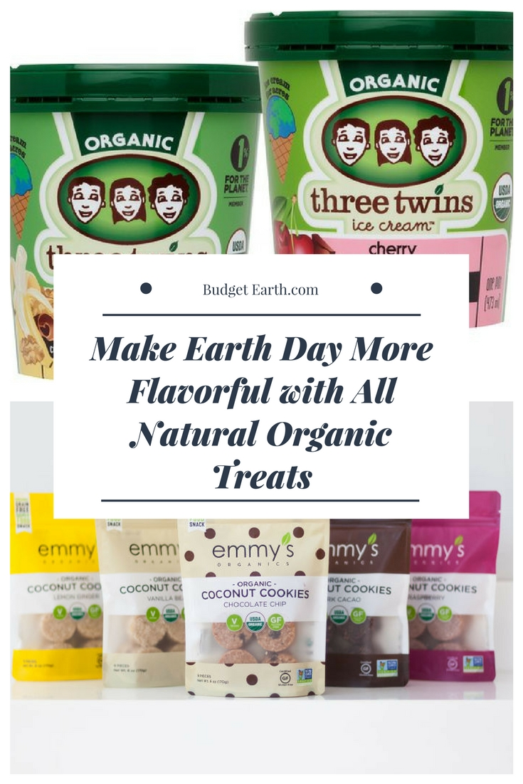 Make Earth Day More Flavorful with All Natural Organic Treats