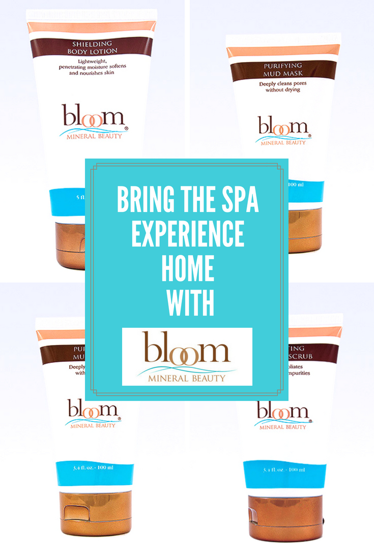 Bring the Spa Experience Home with Bloom Mineral Beauty