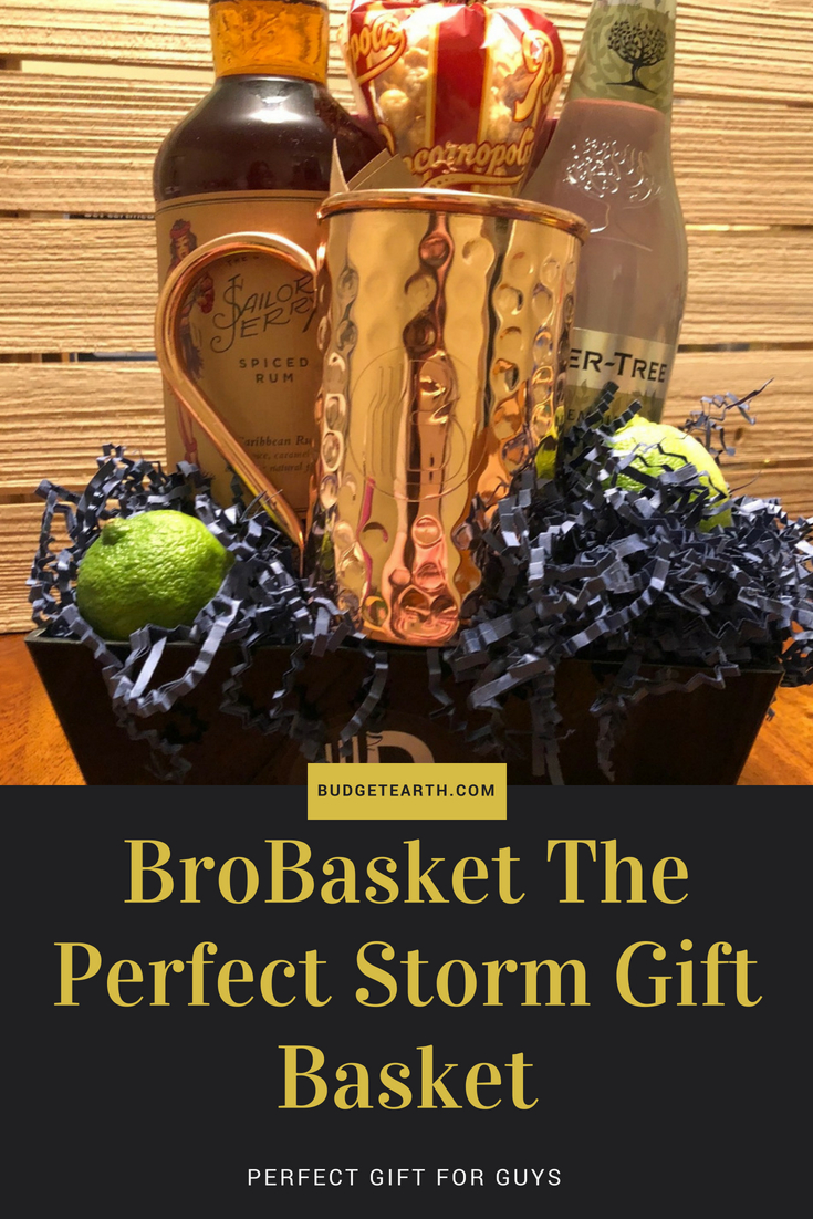 BroBasket The Perfect Storm Gift Basket: Perfect Gift For Guys