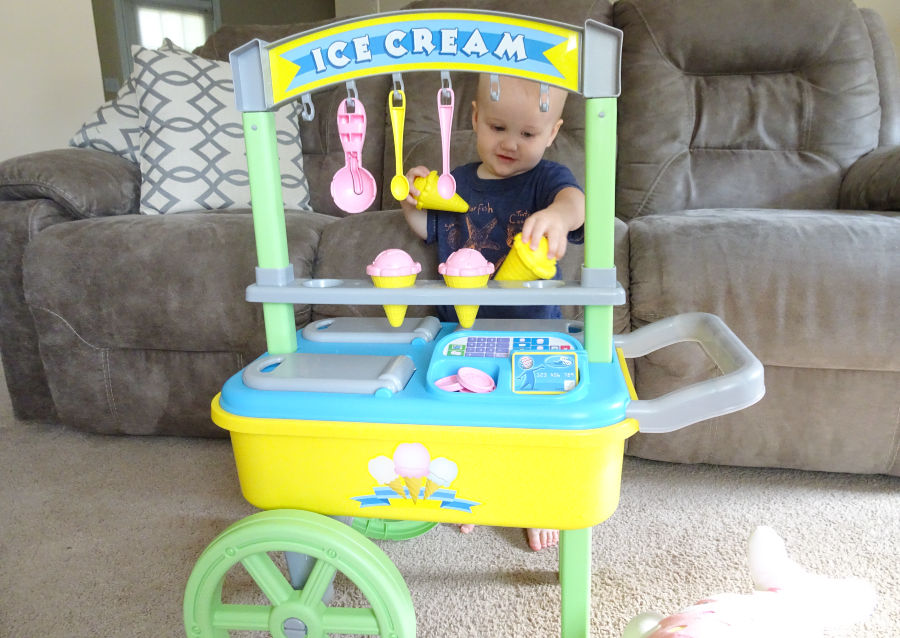 My Very Own Ice Cream Cart