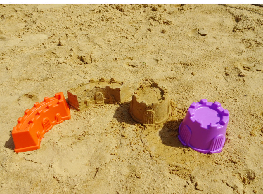 Sand Castle Buckets from American Plastic