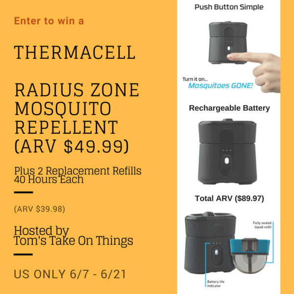 Tired of mosquitoes ruining your outdoor fun? Enter to win Radius Zone Mosquito Repellent and 2 Refills here!
