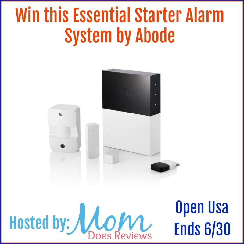 Would you like to keep your family safe right from your smartphone? Enter to win an Abode Home Alarm System here!
