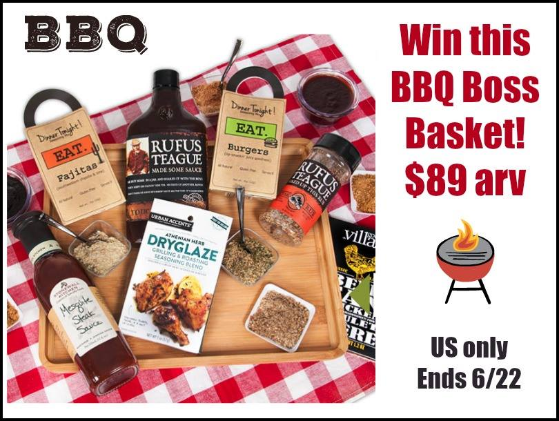 Does your family love everything BBQ? Enter to win a BBQ Boss Gift Basket from GourmetGiftBaskets.com here!
