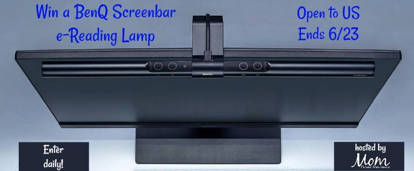 Are you sick of your lamp hogging desk space and glaring off the screen? Enter to win a BenQ Screenbar e-Reader LED Lamp here!
