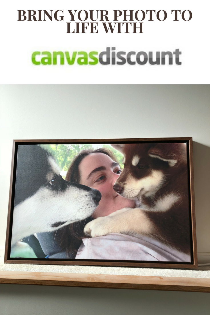 Bring Your Photo To Life with CanvasDiscount.com