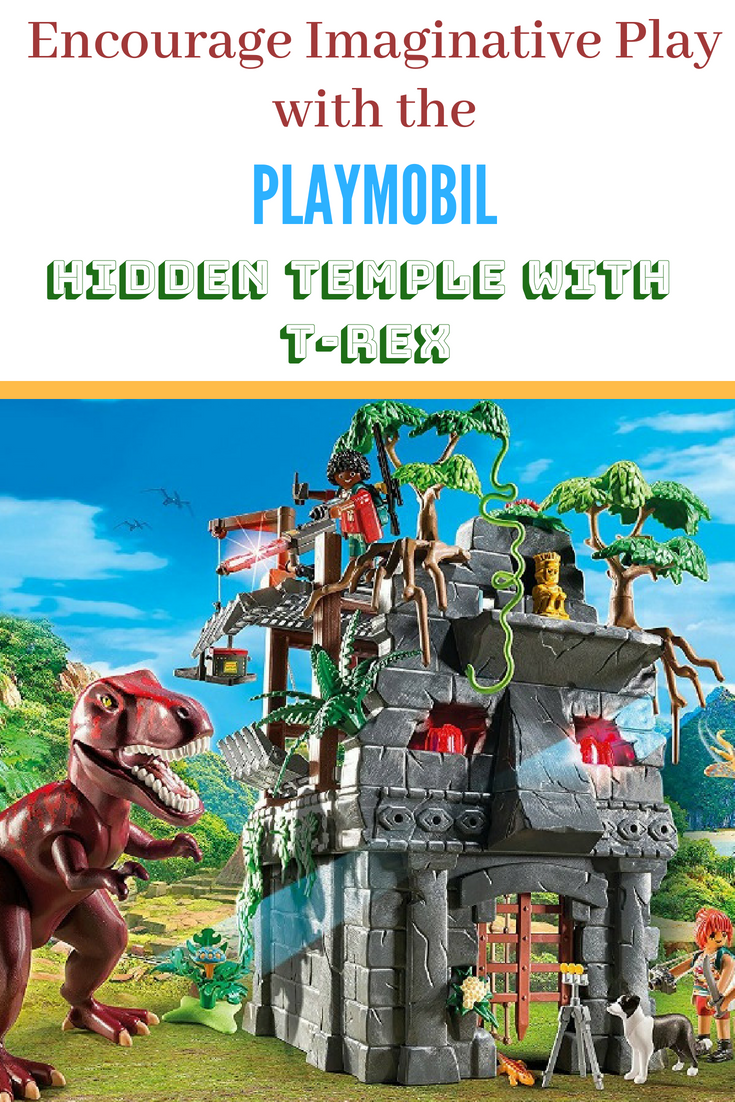 Playmobil TRex temple set