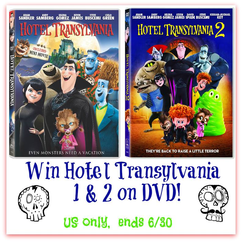 Does your family drive you batty? Enter to win the first two HOTEL TRANSYLVANIA films on DVD here!