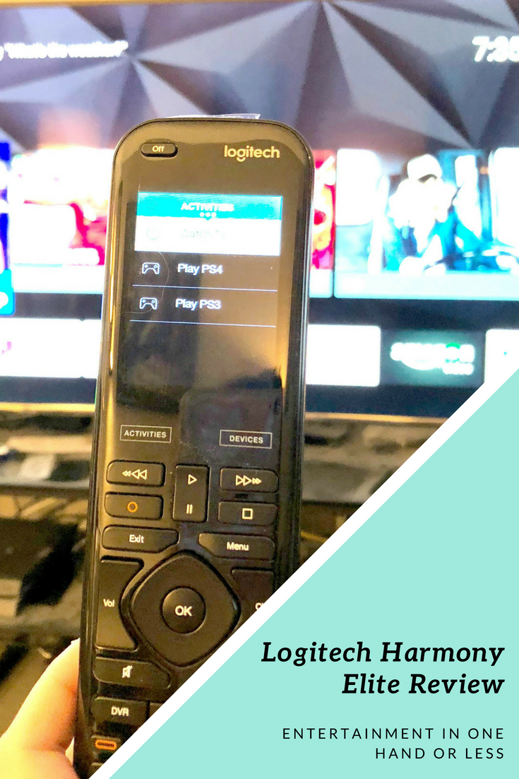 Logitech Harmony Elite Review: Entertainment In One Hand or Less