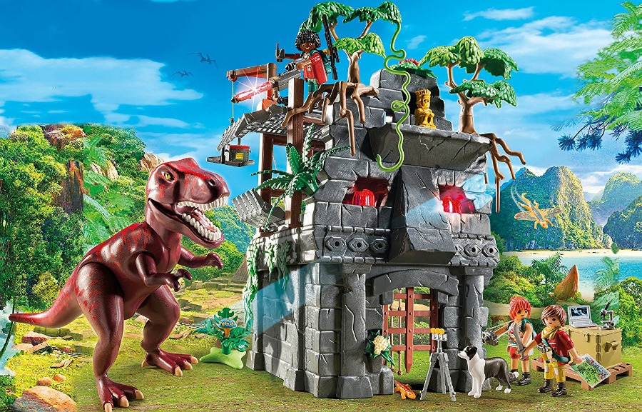 Encourage Imaginative Play with the PLAYMOBIL Hidden Temple with T-Rex