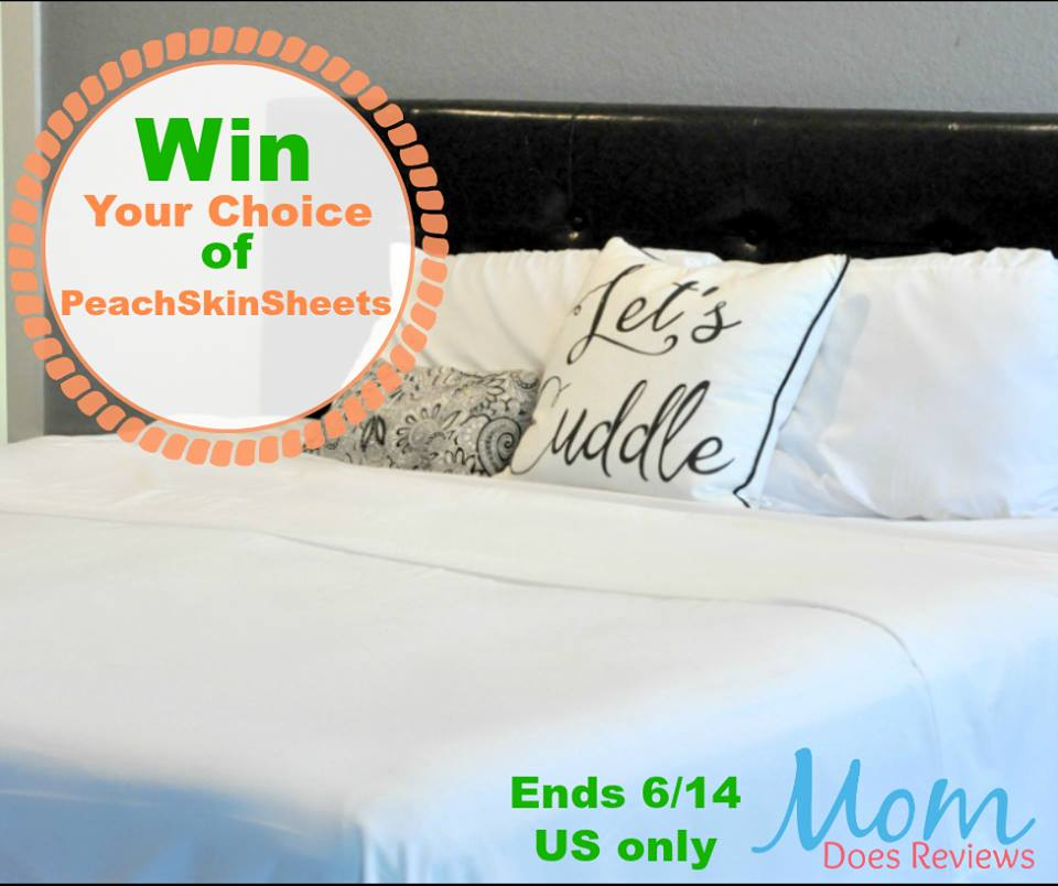 Are you ready for your softest, sweetest slumber yet? Enter to win a set of PeachSkinSheets here!