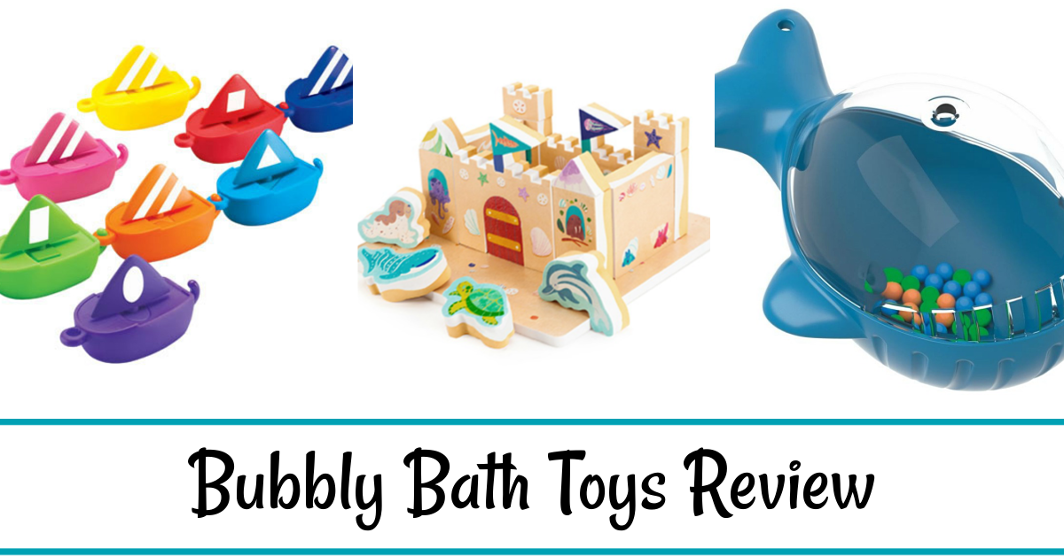 Bubbly Bath Toys Review
