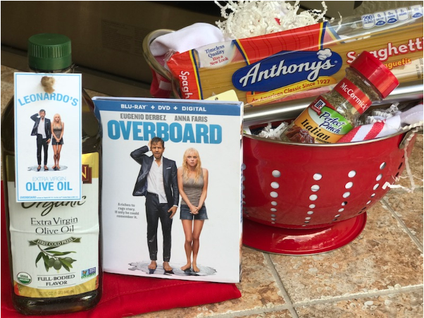 Do you love watching romantic comedies alongside a romantic dinner? Enter to win an Overboard Movie Prize Pack here!