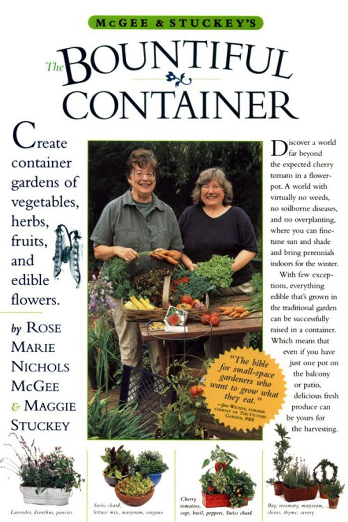 McGee & Stuckey's Bountiful Container: Create Container Gardens of Vegetables, Herbs, Fruits, and Edible Flowers Review