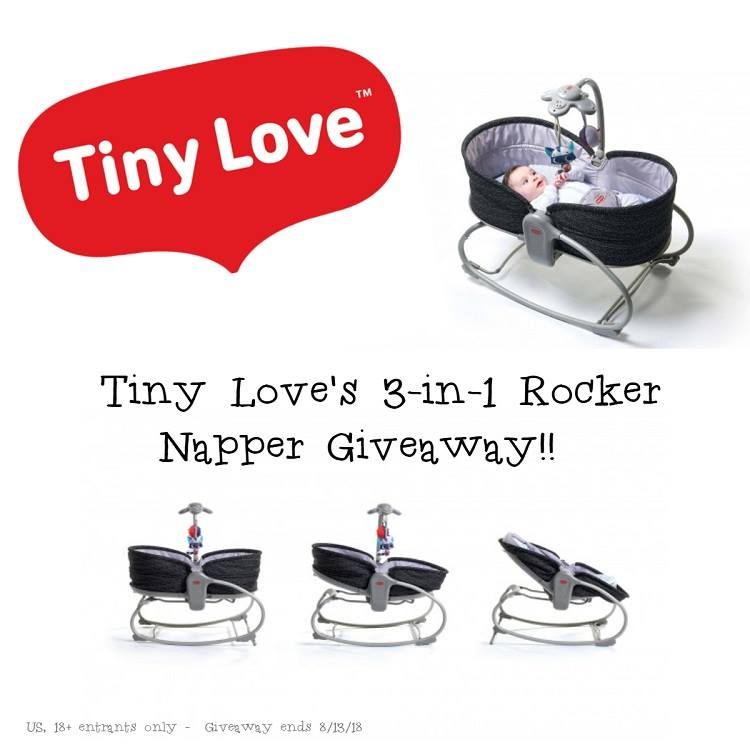 Do you love sharing moments of wonder with your baby? Enter to win a Tiny Love 3-in-1 Rocker Napper here!
