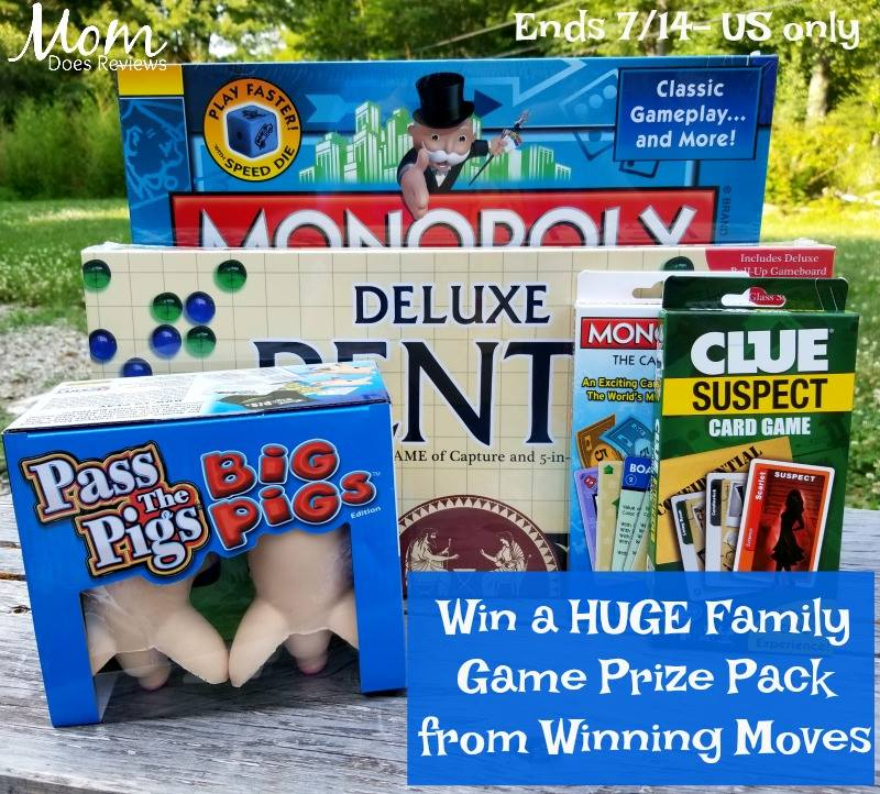 Do you love fresh new finds for Family Game Night? Enter to win a Winning Moves $100 Family Game Prize Pack here!