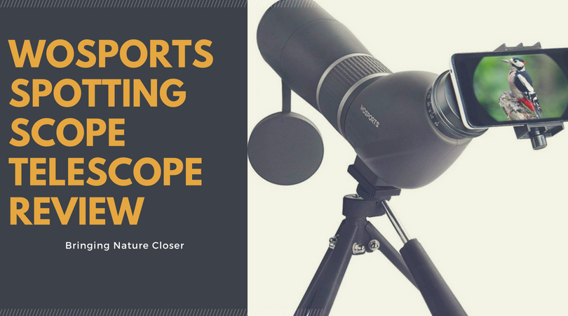 wosports spotting scope telescope