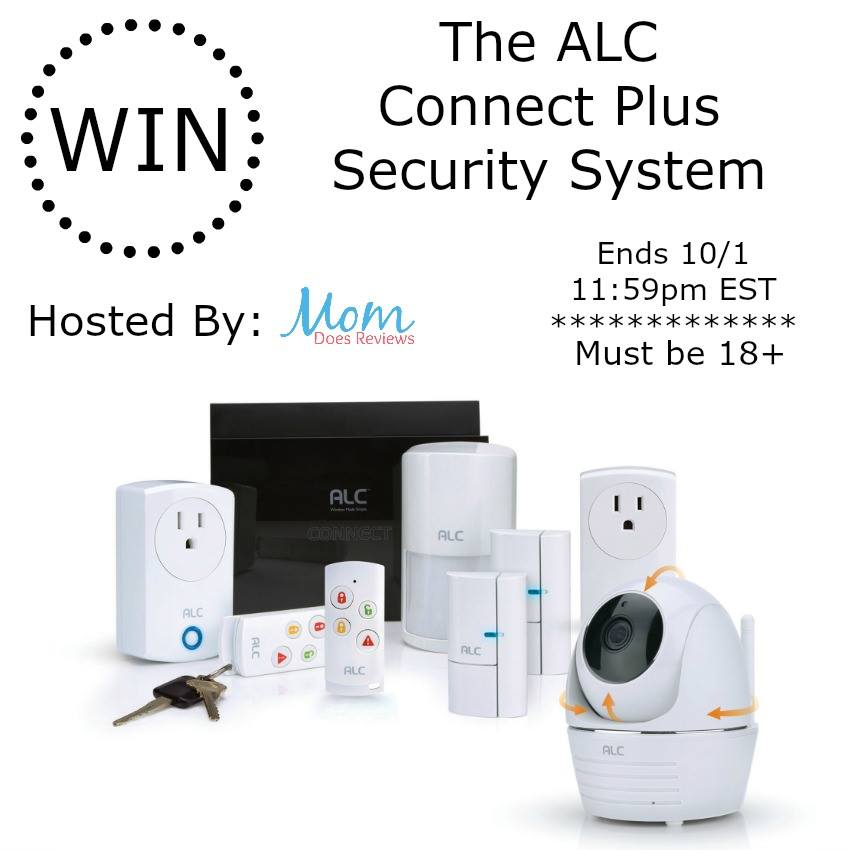 Are you interested in an easy-to-use security system that you can utilize anytime, from anywhere? Enter to win an ALC Connect Plus Home Security System here!