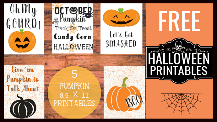 Are you looking for some sweet and spooky Halloween printables? Check out our free pumpkin-themed printables here!