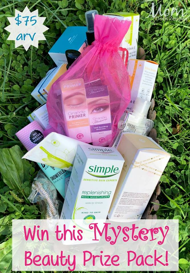 Do you love to pamper yourself? Enter to win a Mystery Beauty Prize Pack here!