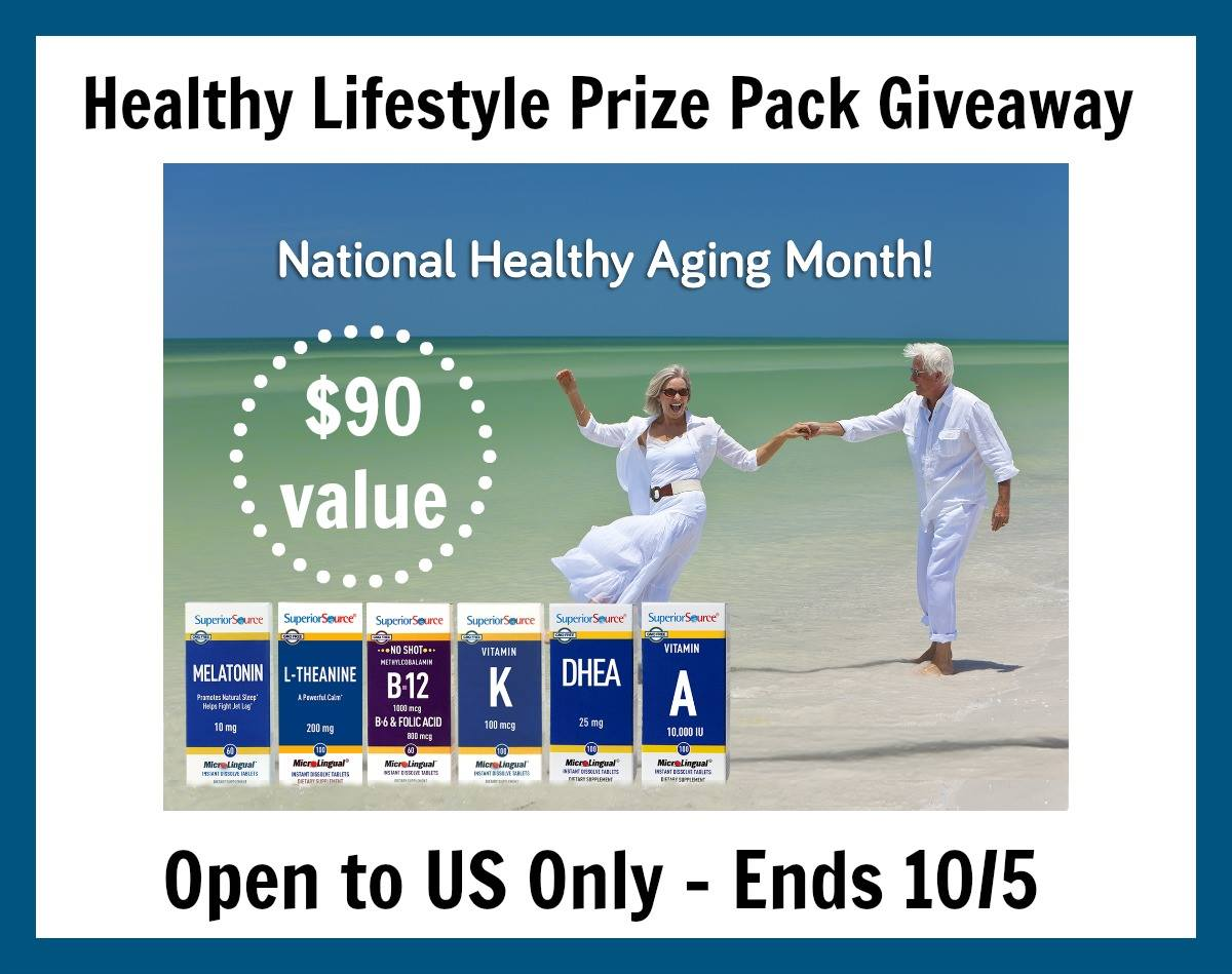 Healthy Lifestyle Prize Pack Giveaway