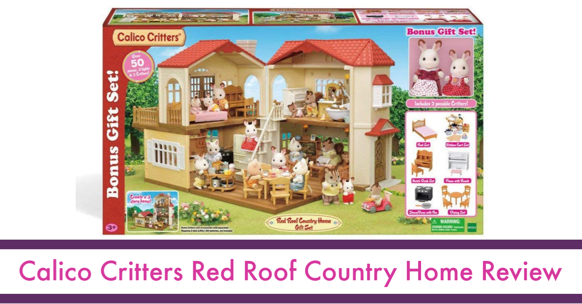 Calico Critters Red Roof Country Home Review